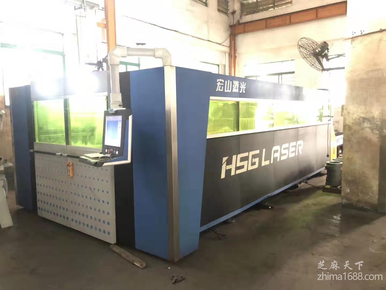二手宏山HS-G4020A光纤激光切割机(3000瓦)