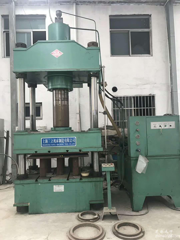 二手上海三立315四柱液压机