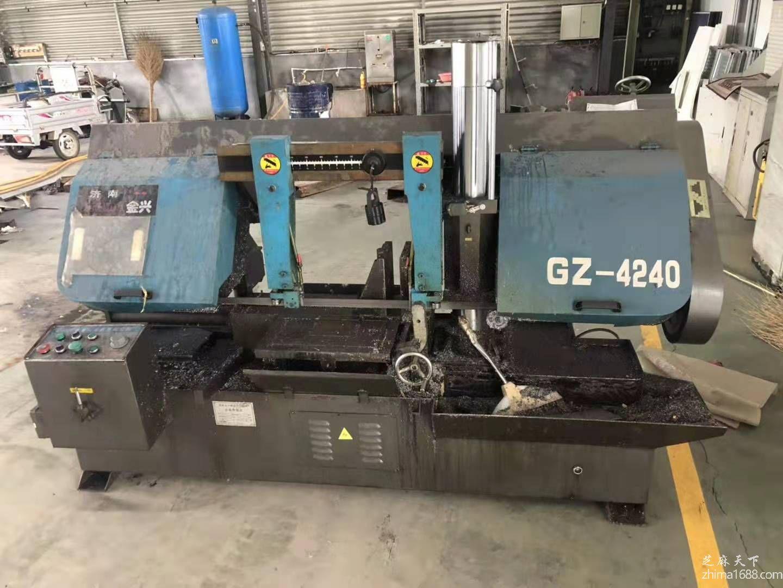 二手济南金兴GZ-4240金属带锯床