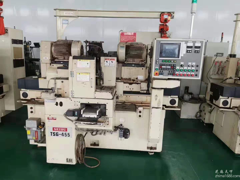 二手日本西部TSG-455数控高精密双端面磨床