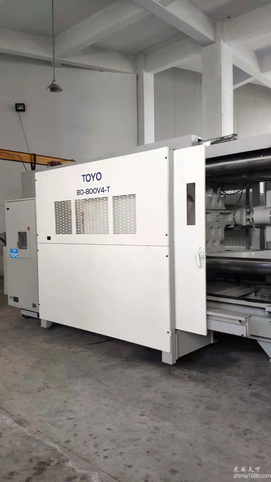 二手日本TOYO BD-800V4-T压铸机