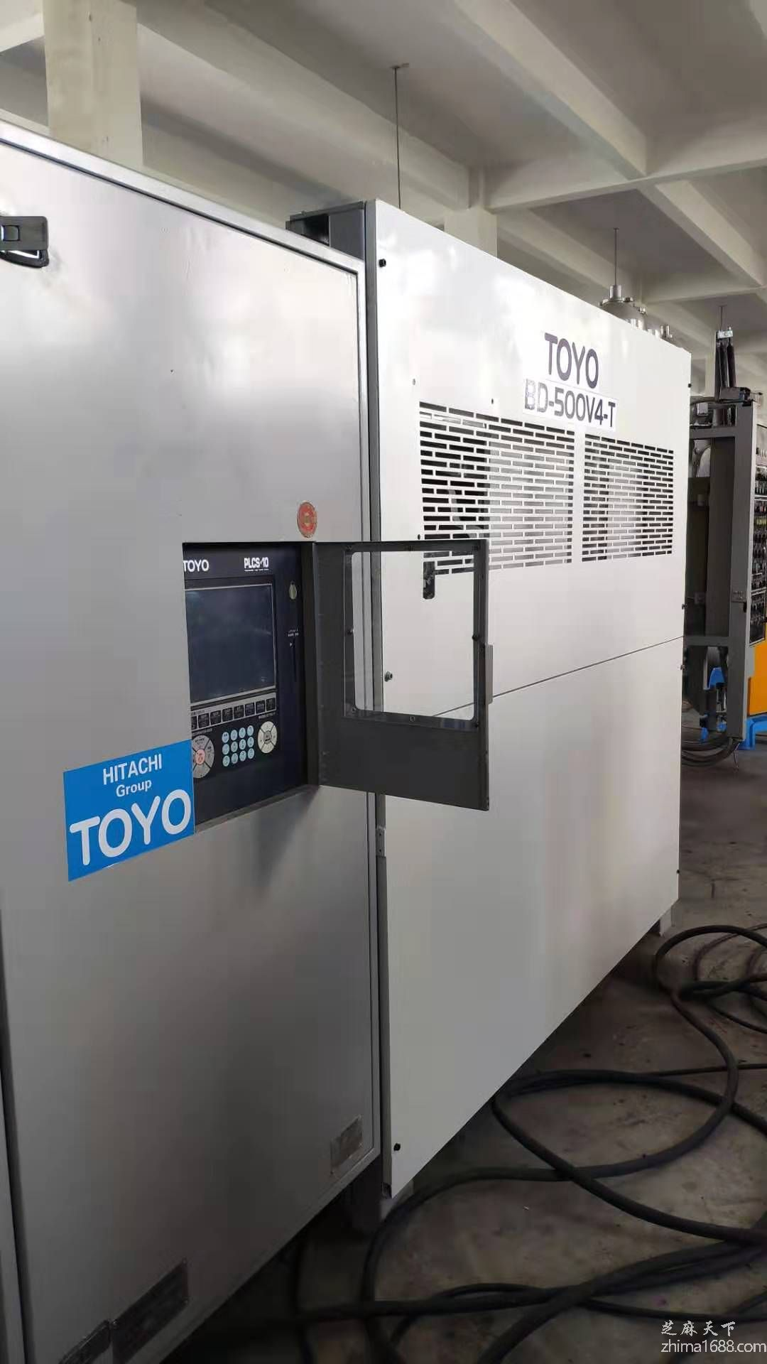 二手日本TOYO BD-500V4-T压铸机