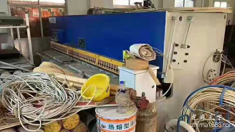二手江苏全重QC12Y-6×4000液压摆式剪板机(一套)