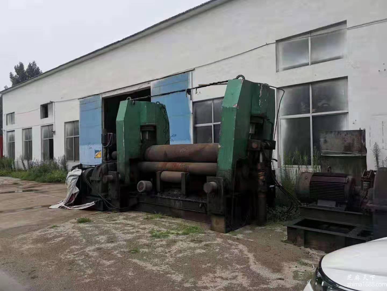 二手镇江康兴W11-60×2500液压卷板机