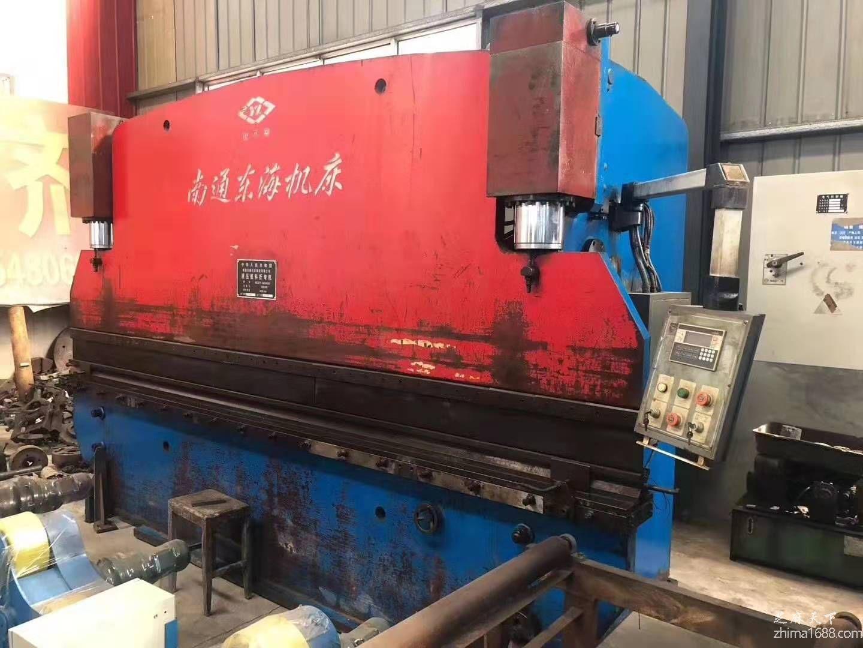 二手南通东海WC67Y-160×4000液压板料折弯机