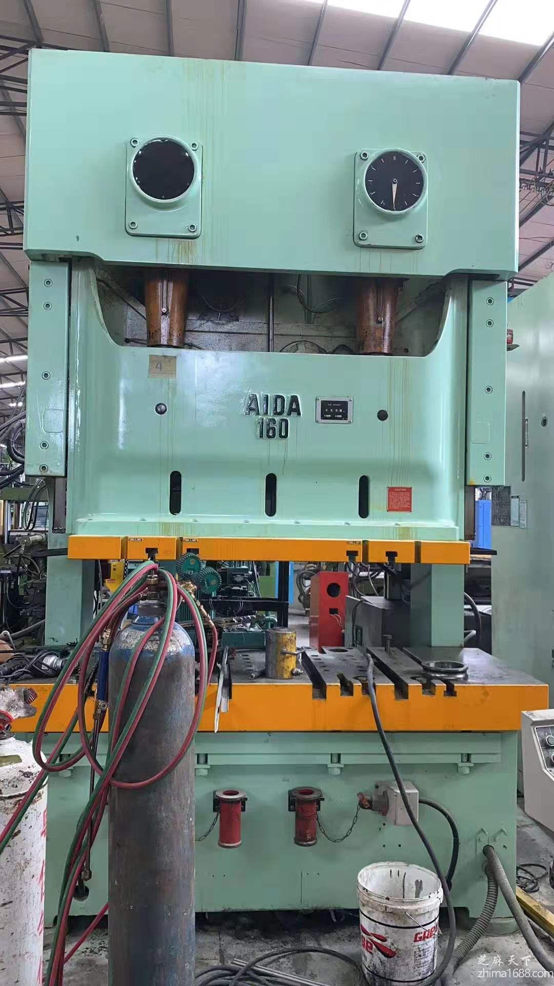 二手日本AIDA NC2-160(2)双点冲床(闭式)
