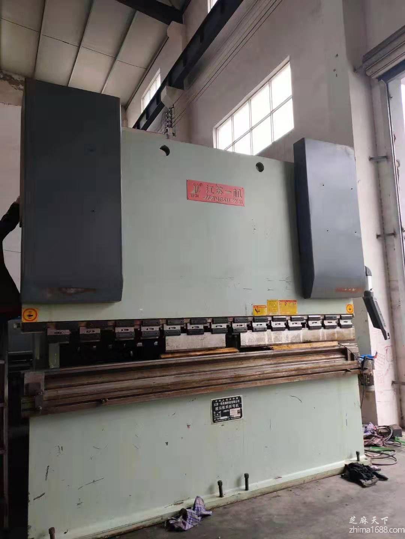 二手江苏一机WE67K-100/3200液压板料折弯机