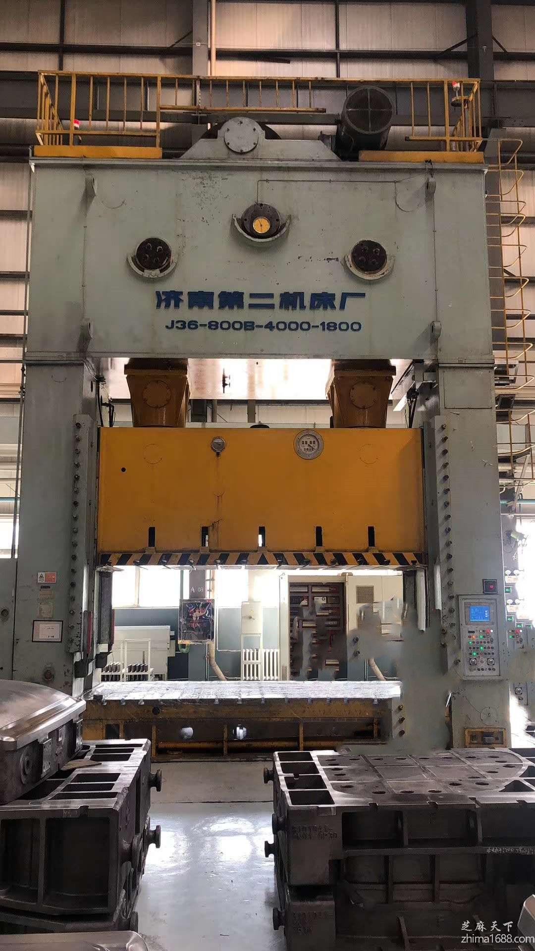 二手济南二机J36-800B/3闭式双点压力机