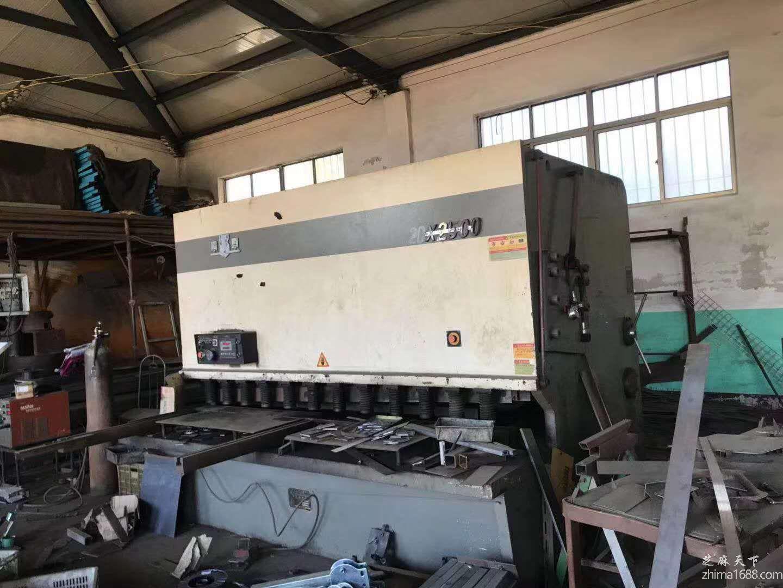 二手上海巨威QC12Y-20×2500液压剪板机