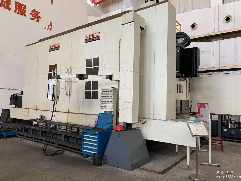 二手台湾油机VTH-4000ATC+C+G-1-2R车铣复合中心