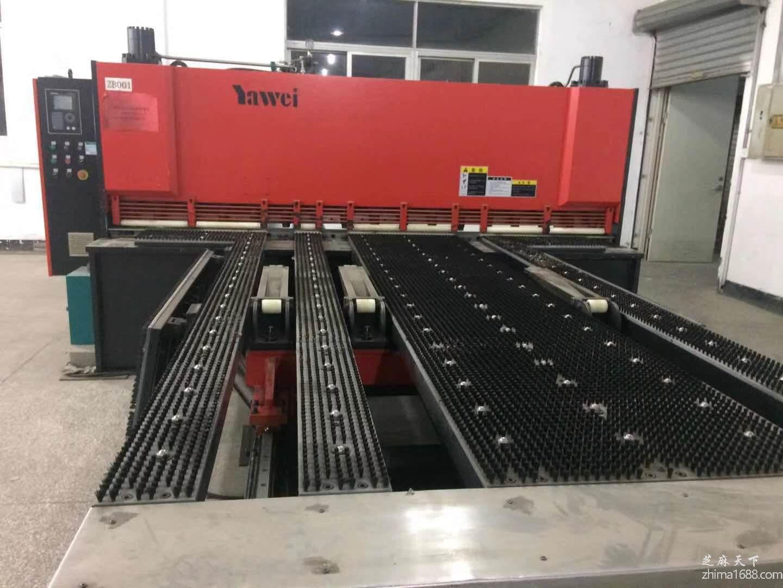 二手江苏亚威BS-HGSK-6×3050数控前送料闸式剪板机