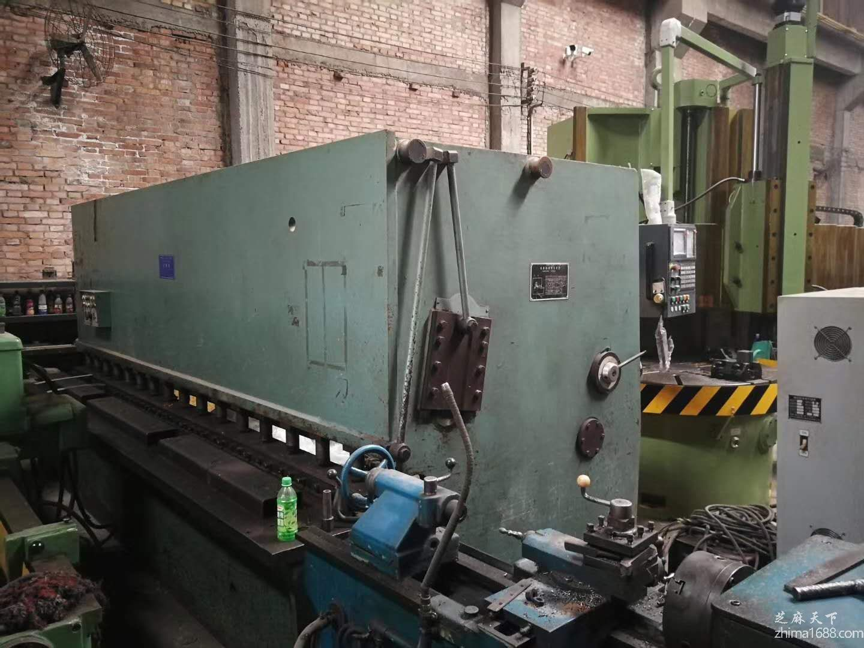 二手上海冲剪QC12Y-12×4000剪板机