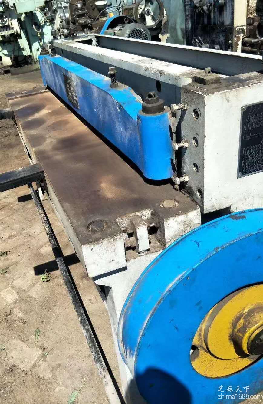 二手马鞍山中捷3×1300机械剪板机