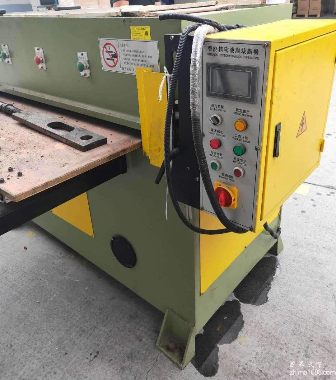 二手国产XCLP3-500精密四柱液压裁断机