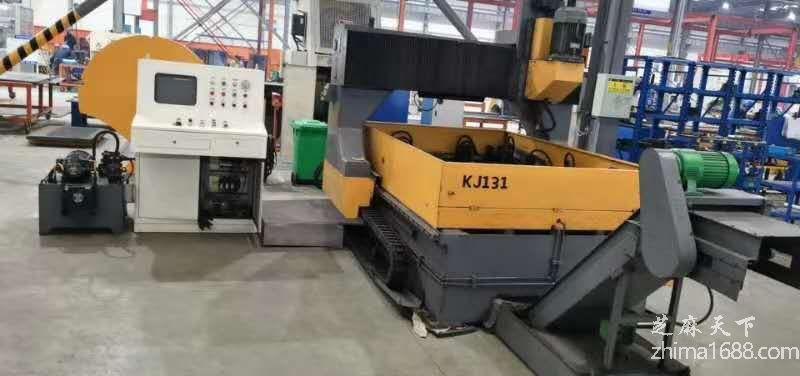 二手淄博赛瑞PMZ2012型龙门移动式数控平面钻床