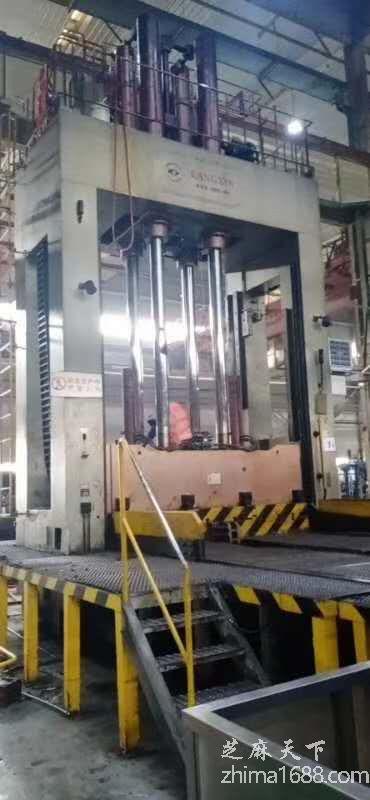二手宁波康鑫450吨合模机