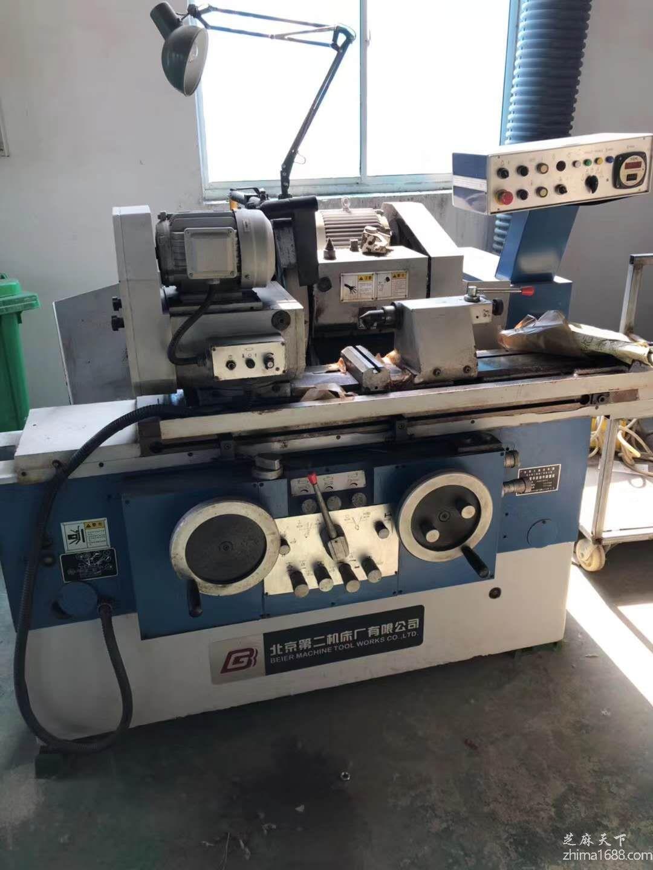 二手北京二机MGB1320E高精度半自动外圆磨床