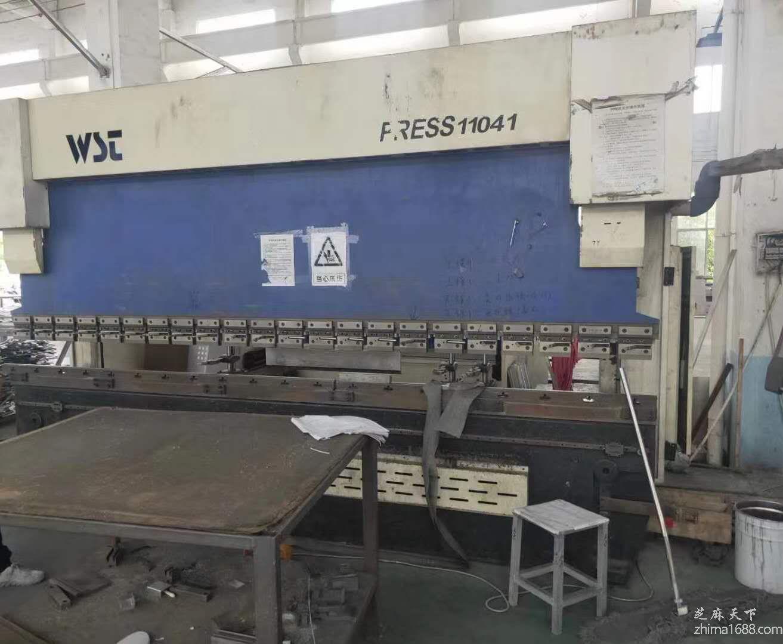 二手上海威世顿WD67K-110/4100数控液压板料折弯机