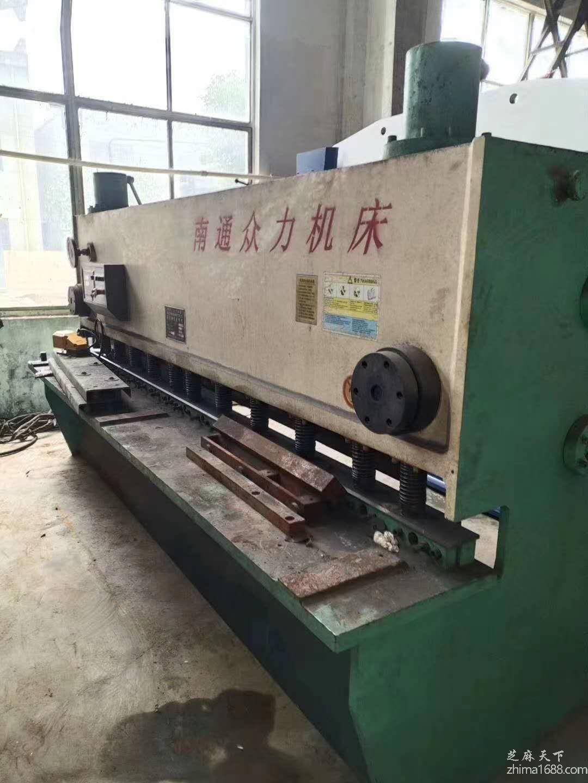 二手南通众力QC11Y-6×3200液压闸式剪板机