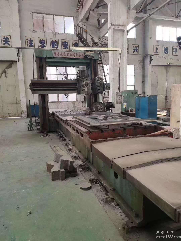 二手青岛永立BX2020F-3加重型龙门刨铣床(2×6米)