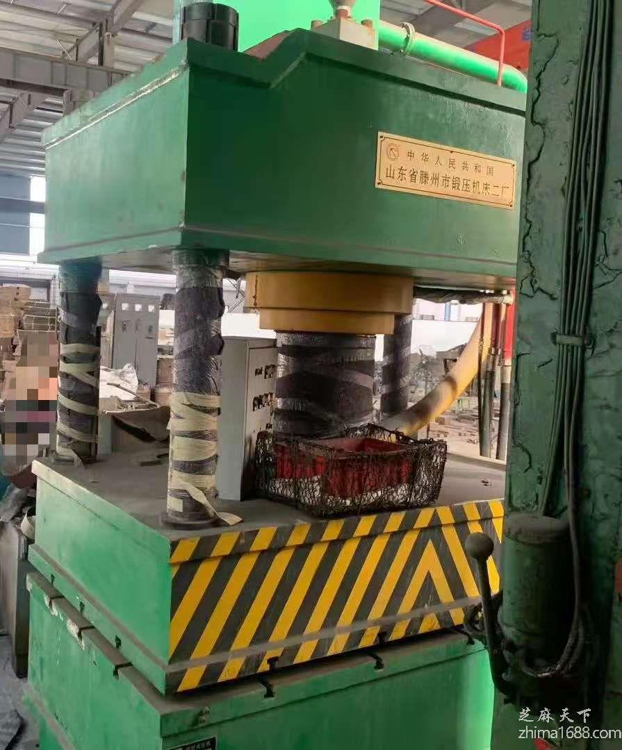 二手山东滕州YQ32-300T四柱液压机