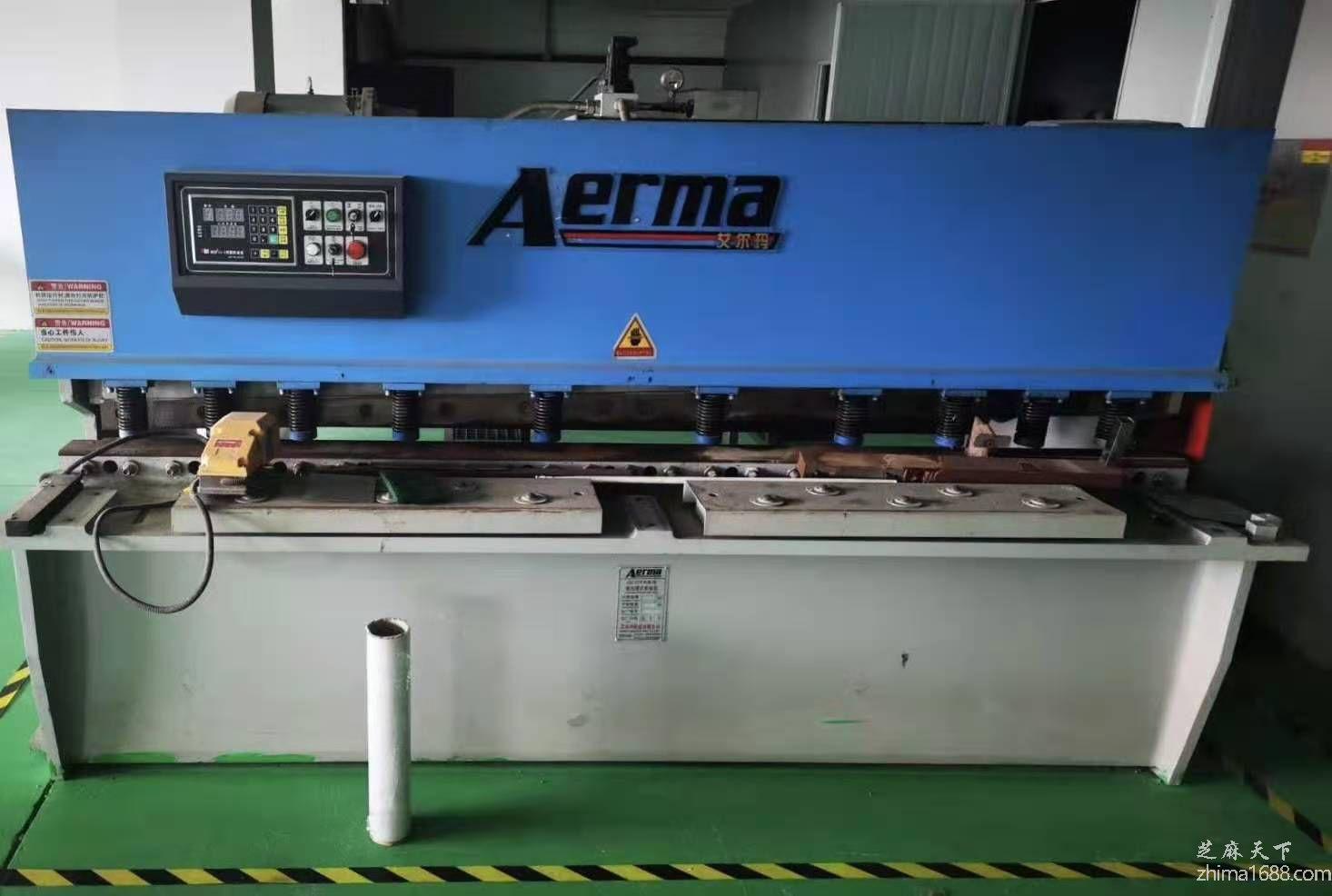 二手艾尔玛QC12Y/K系列液压摆式剪板机