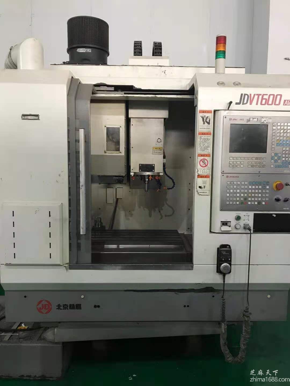 二手北京精雕JDVT600A12S雕刻机
