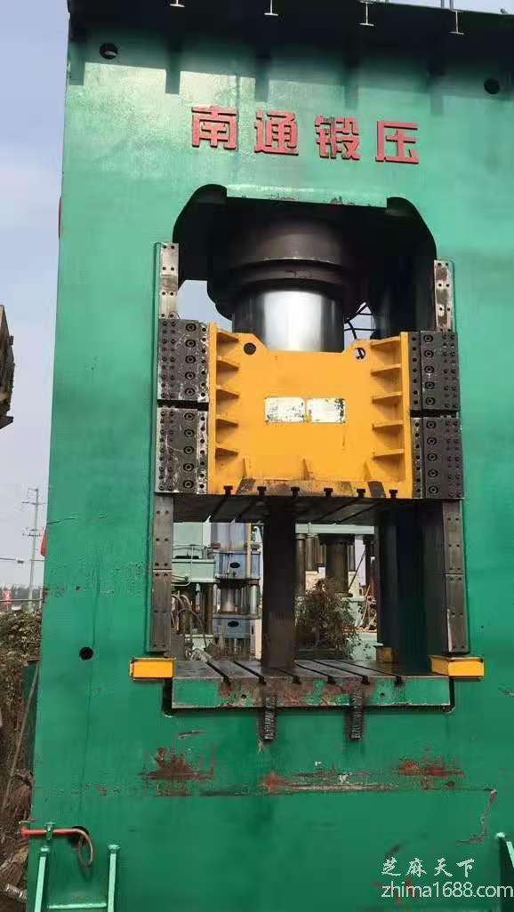 二手南通锻压YQK34-1250框架液压机