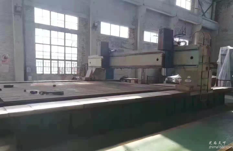 二手济南PBZ7070-4型龙门移动数控平面钻床
