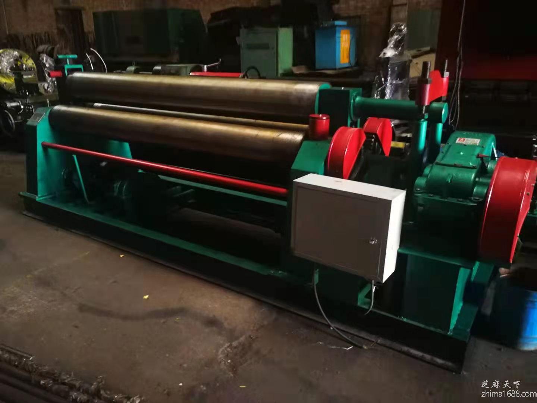 二手长治锻压W11-20×2500A三辊卷板机