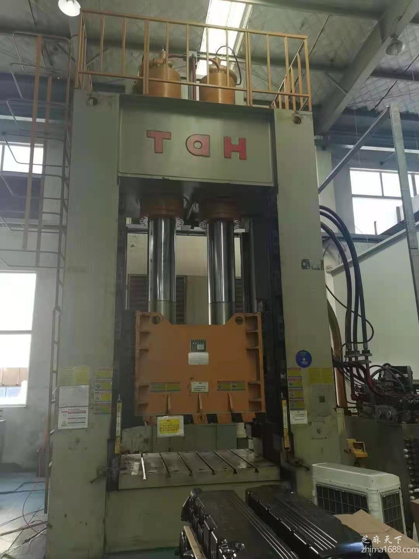 二手南通太和YTK/T1N-800吨框架液压机