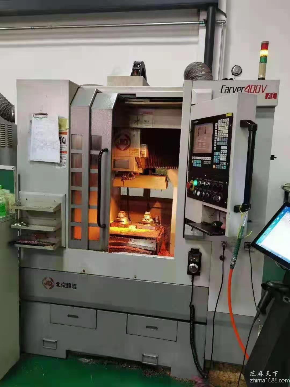 二手北京精雕Carver400V AL精雕机
