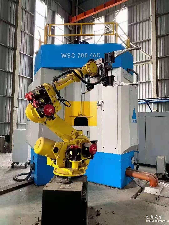 二手德国原装莱菲尔德WSC700/6C立式三旋轮强力轮毂旋压机