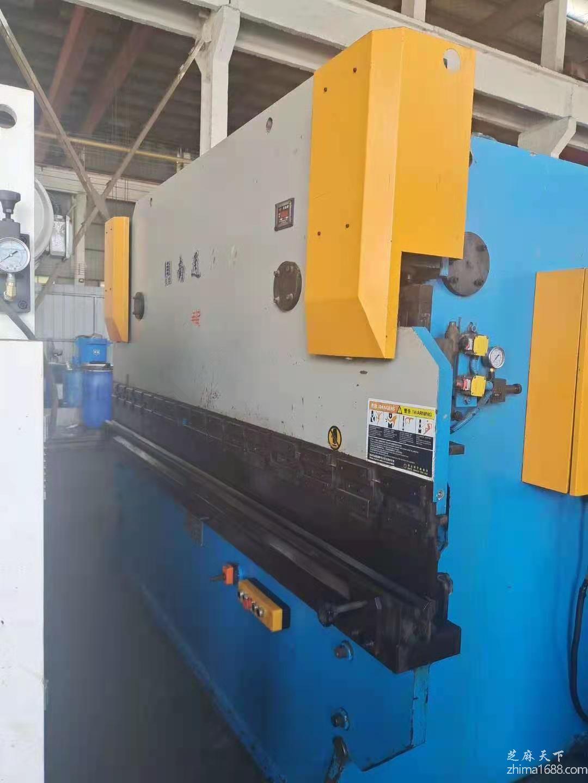 二手南通海力WC67Y-100/3200液压板料折弯机