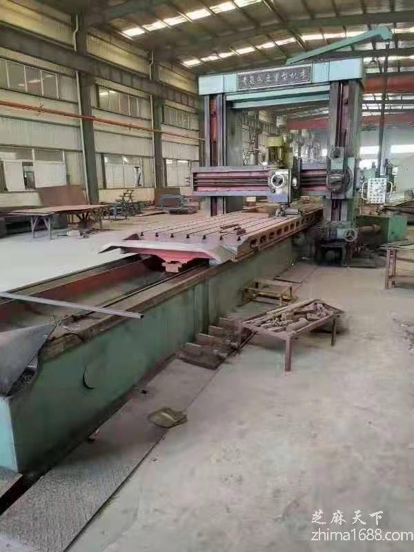 二手青岛永立BXM2020F-5重型龙门刨铣床(6米)