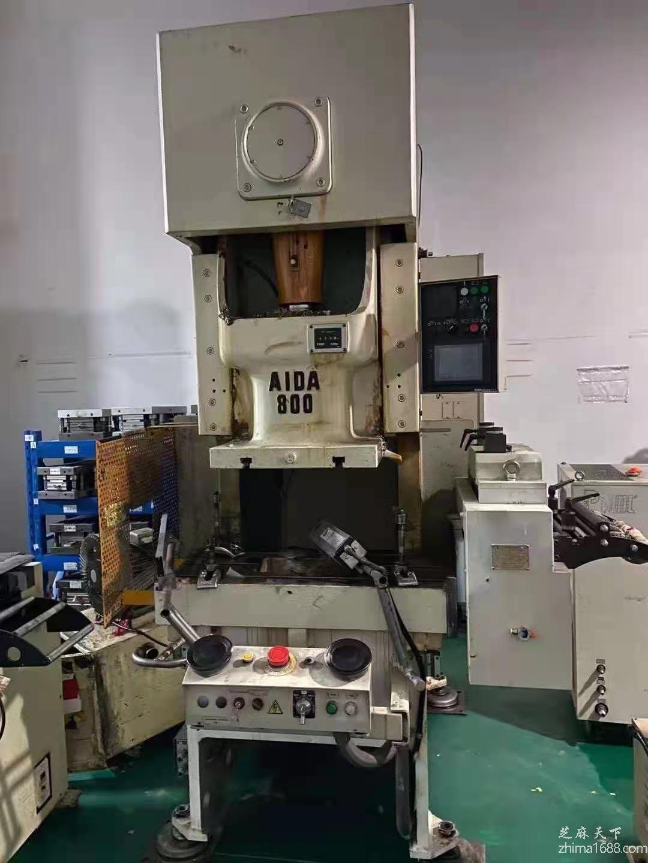 二手AIDA NC1-800(1)E伺服冲床