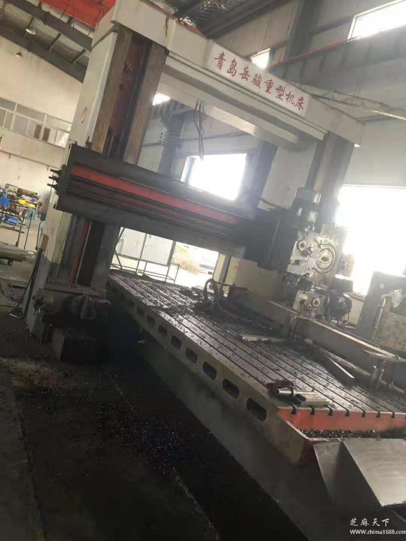 二手青岛岳骏BXMQ2025龙门刨铣床(4米)