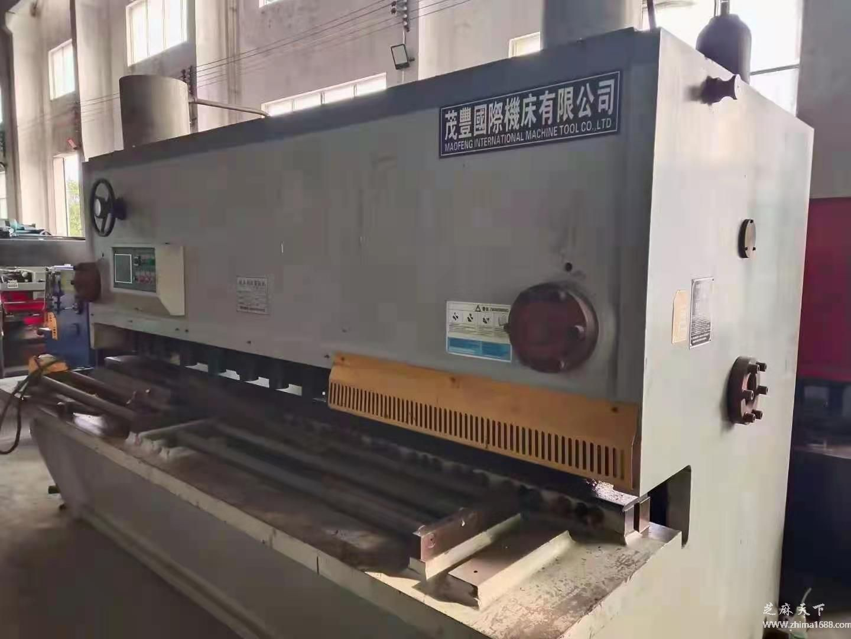 二手茂丰国际QC11Y-25×3200液压闸式剪板机