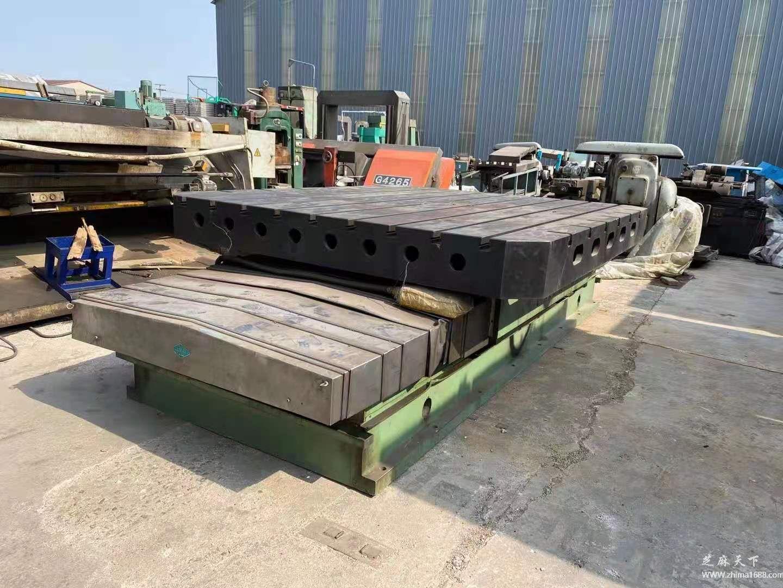 二手芜湖芜重HT250回转工作台(2.5×3米)