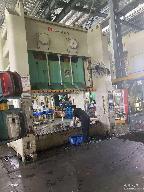 二手江苏扬力JM36-400双轴龙门压力机(400吨)