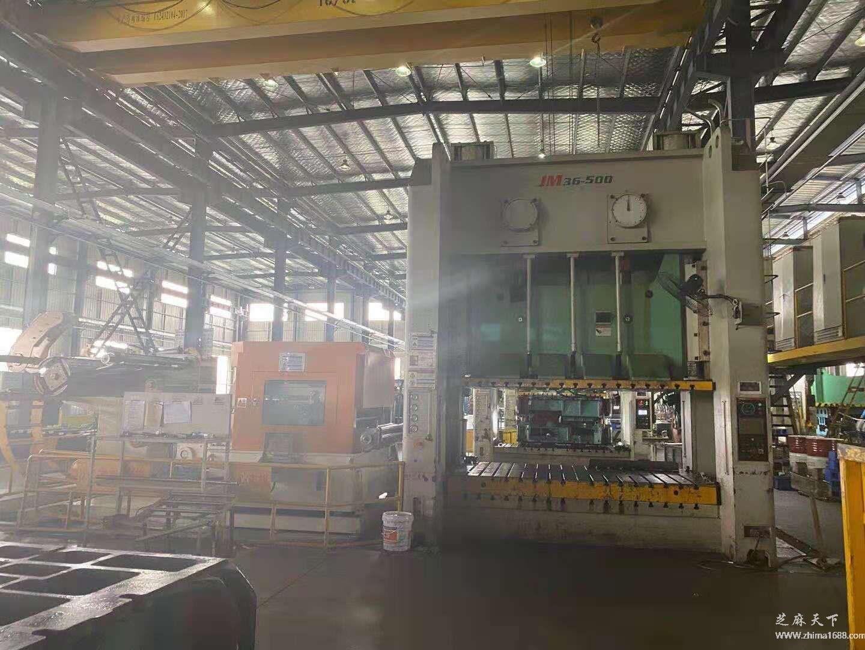 二手江苏扬力JM36-500双轴龙门压力机(500吨)