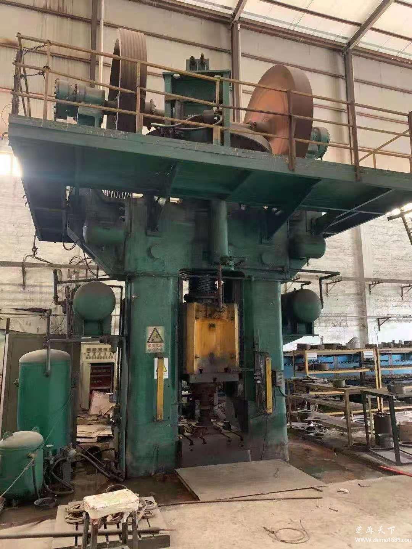 二手青岛锻压1600吨摩擦压力机