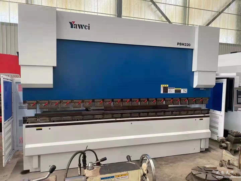 二手亚威PBH220电液数控折弯机(220吨4.1米)