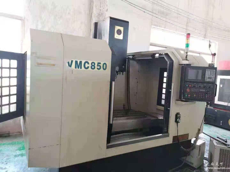 二手尚银VMC850数控铣床