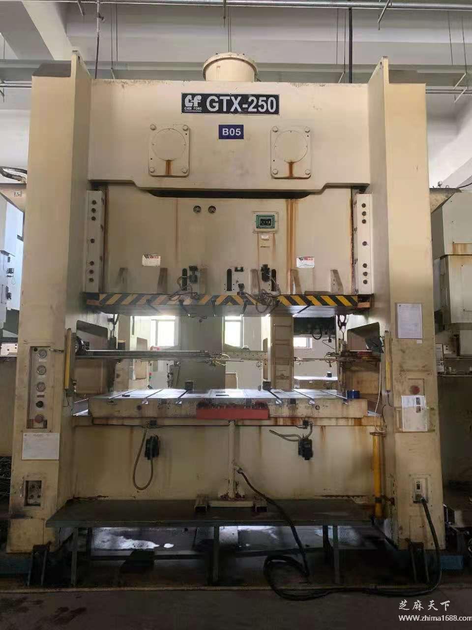 二手金丰GTX-250压力机(250吨)
