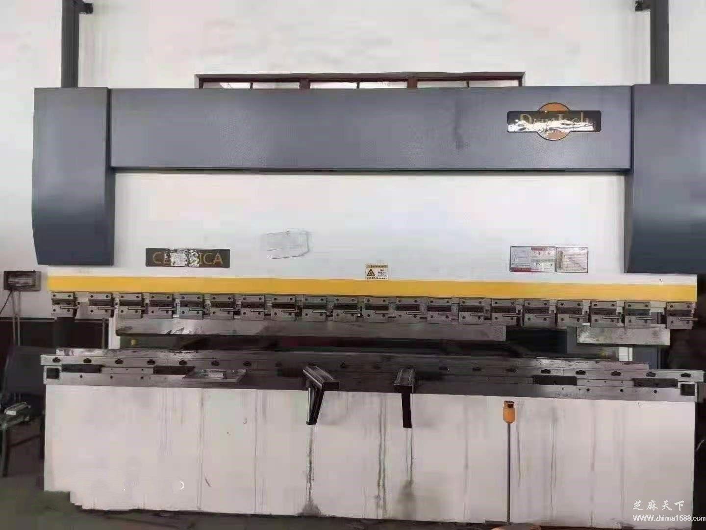 二手江苏瑞铁160/4100mm高速电液同步折弯机(160吨4.1米)