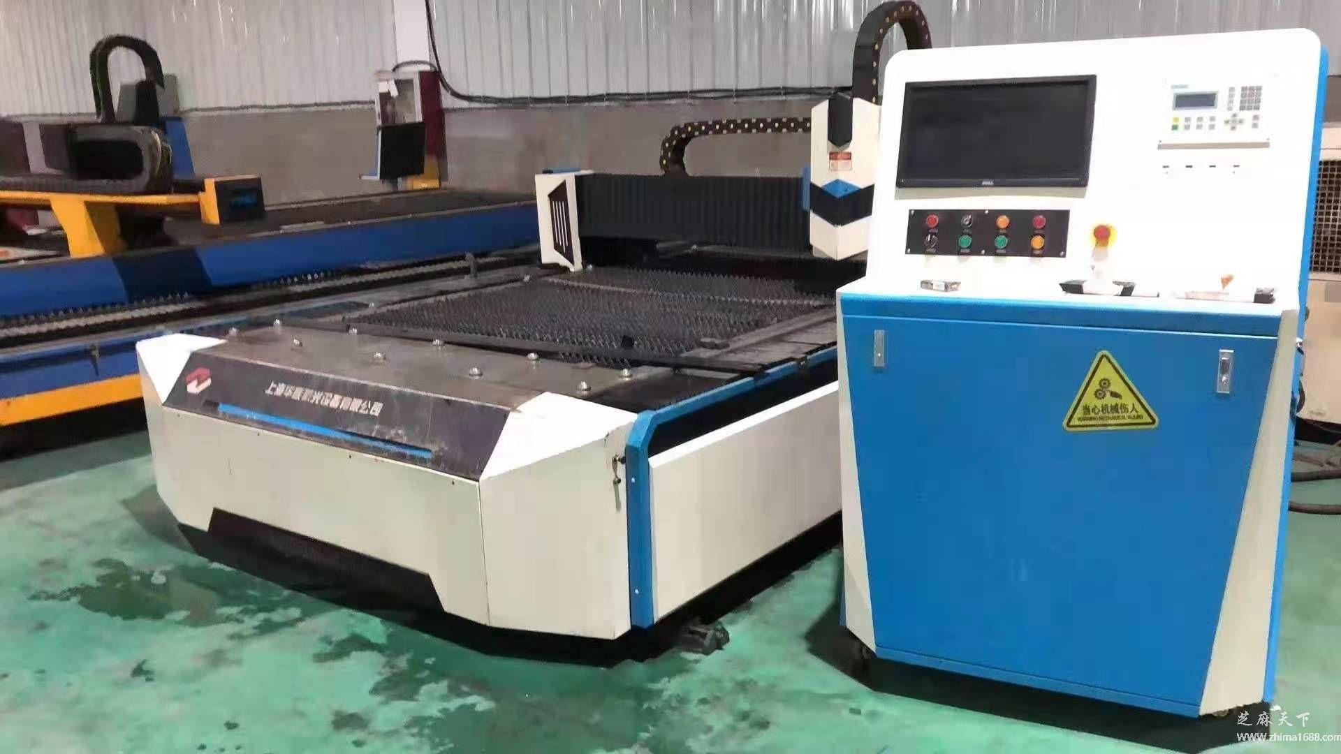 二手上海华族3015E激光切割机(1500瓦)