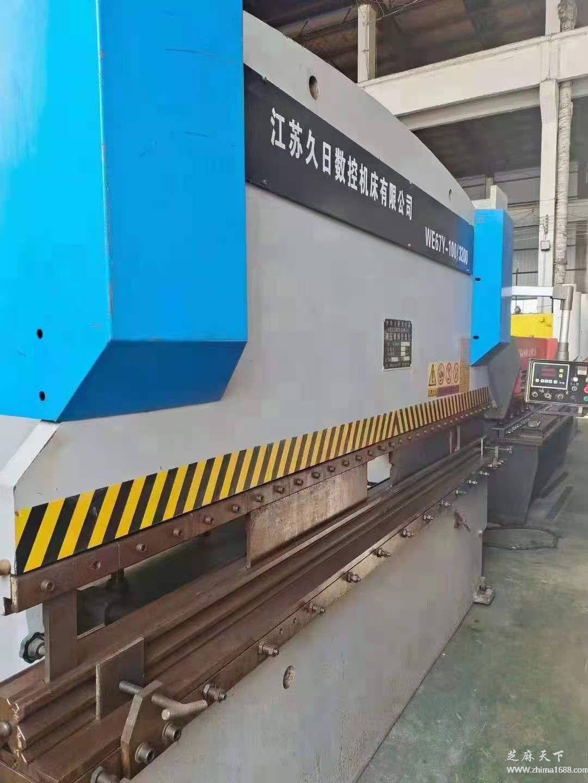 二手江苏久日WE67Y-100/3200液压板料折弯机