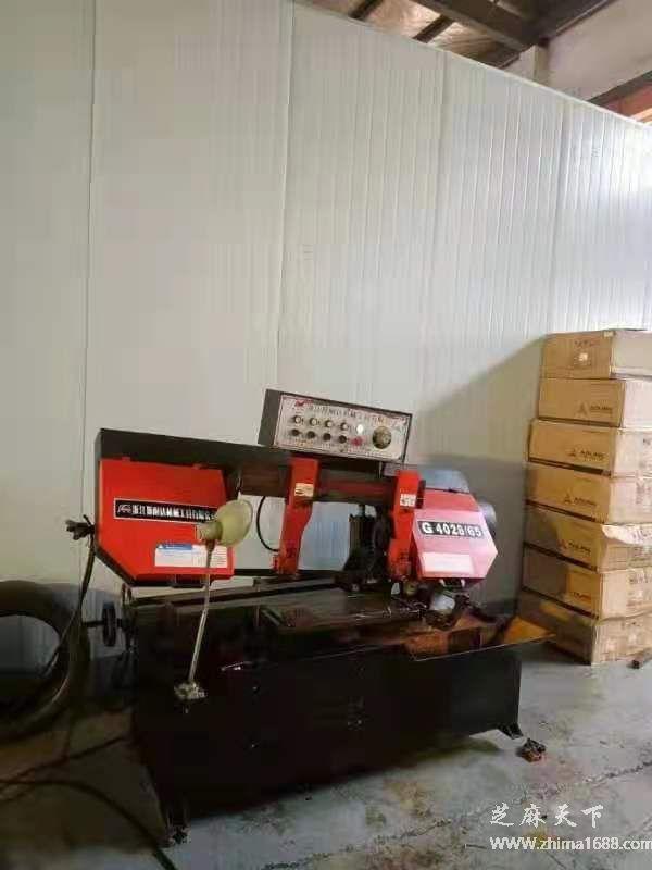 二手凯达煌G4028-65锯床