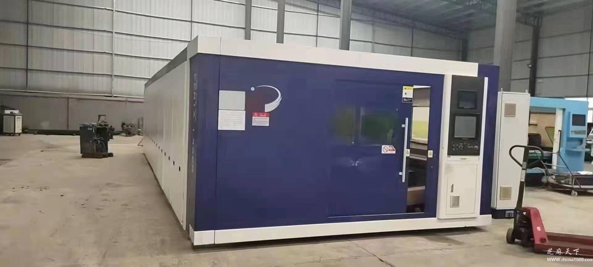 二手奔腾PLUS8025数控光纤激光切割机(12000瓦)